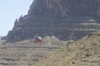 Helicopter in Grand Canyon