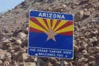 Arizona state sign Grand Canyon